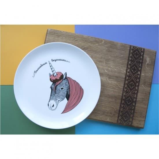 Оригинальные тарелки Единорожек