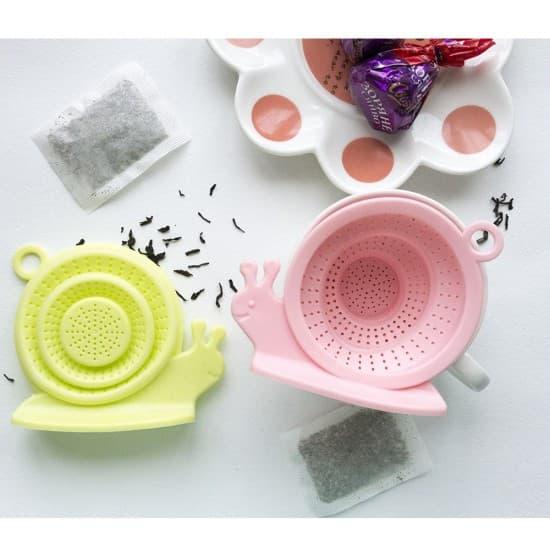 Заварник для чая Улитка силиконовый