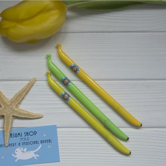 Гелевые ручки Банан