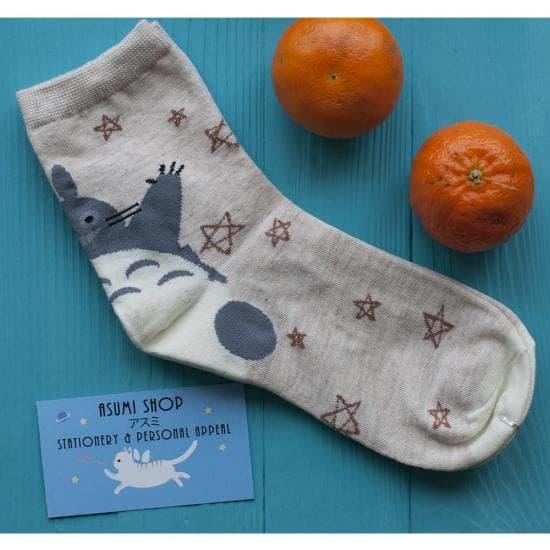 Милые носочки Totoro