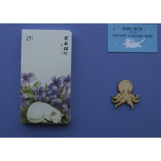 Блокнот/скетчбук Cat&Purple Flowers