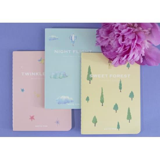 Красивые блокноты Note For