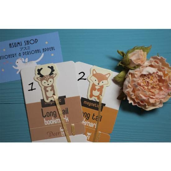 Магнитные закладки для книг Long Tail Bookmark