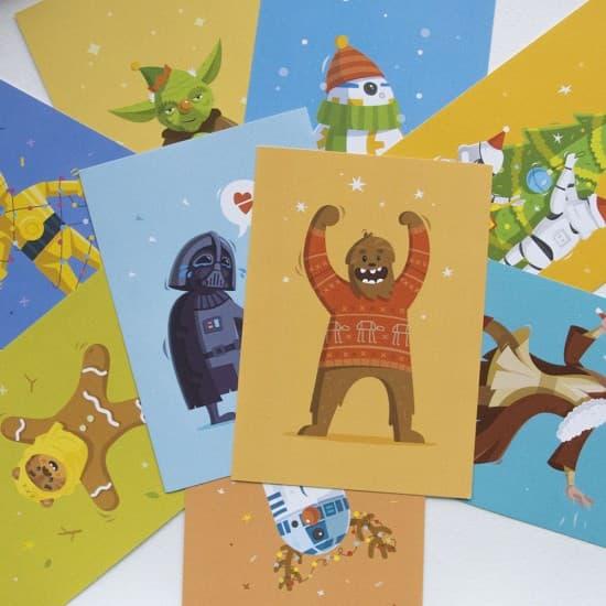 Поздравительные открытки Star Wars