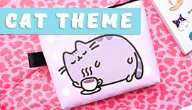 Купить милые вещи и канцелярию с котом