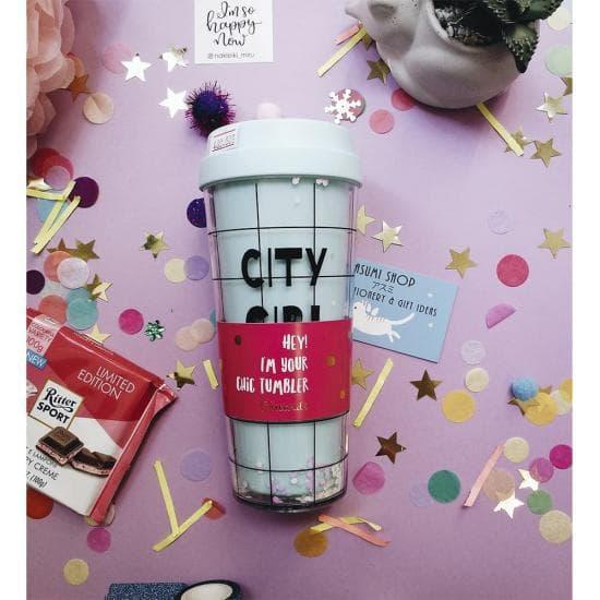 Тамблер для напитков City Girl Chic 475 мл