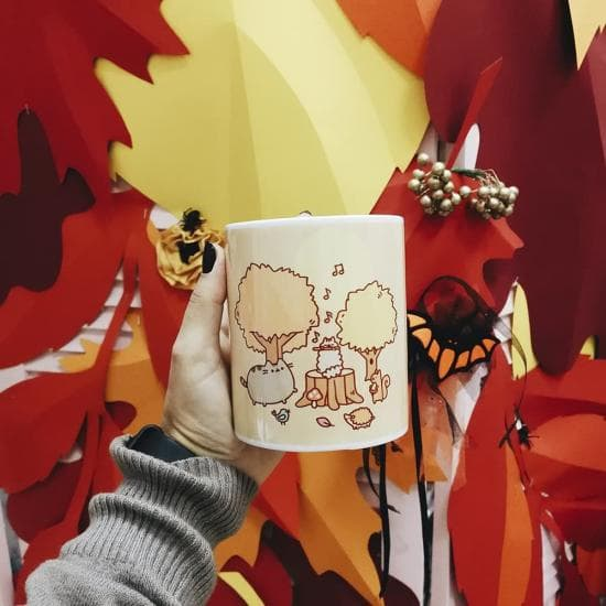Чашка Pusheen Autumn