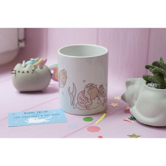 Оригинальная чашка Pusheen Mermaid