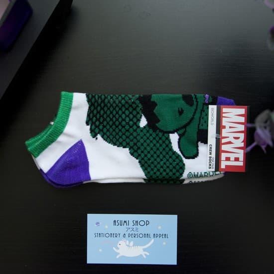 Носочки женские низкие Hulk - Marvel