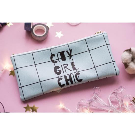 Пенал для ручек/косметичка CITY GIRL CHIC