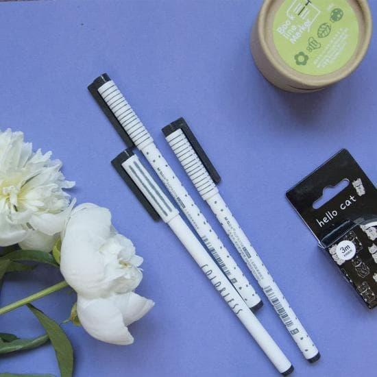 Гелевые ручки Colorless