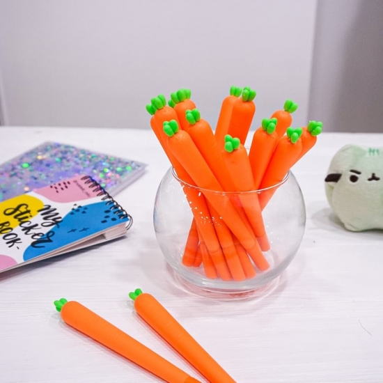 Гелевая ручка Морковка (Carrot)