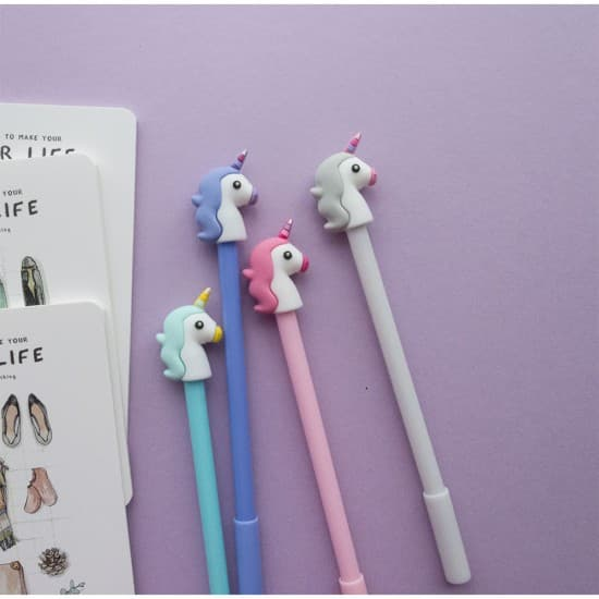 Ручка гелевая Единорог (Unicorn)