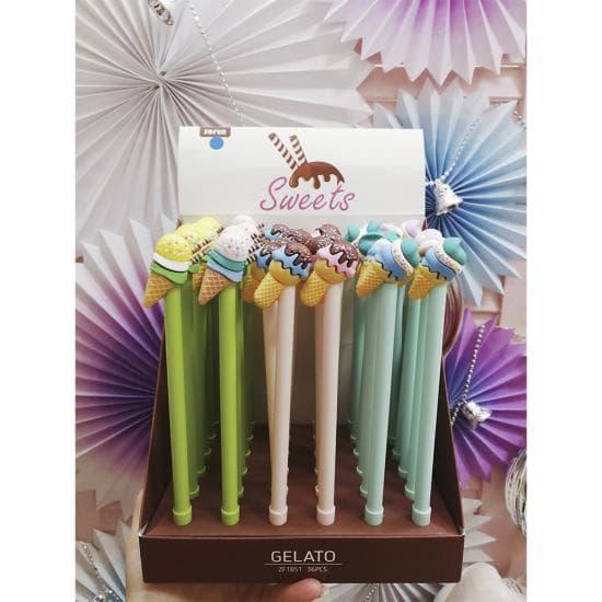 Ручки с запахом Ice Cream