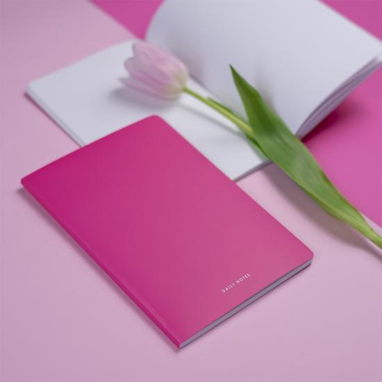 Тетрадь Pink, с чистыми листами