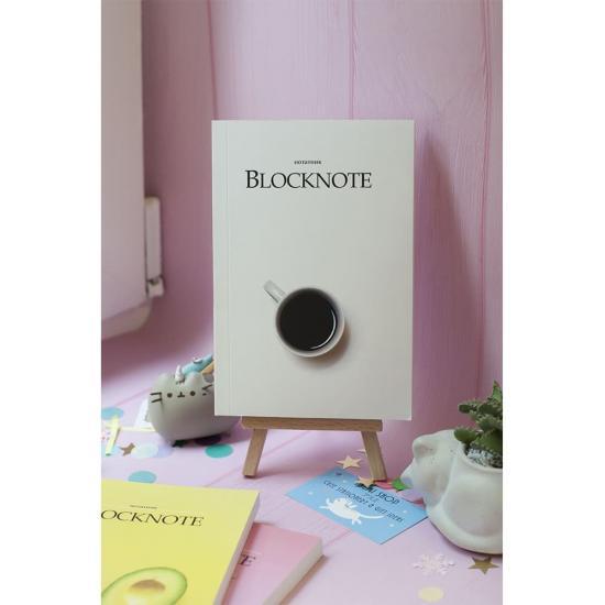 Блокнот с чистыми листами Coffee