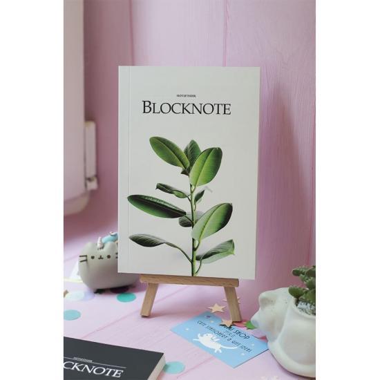 Блокнот с чистыми листами Ficus