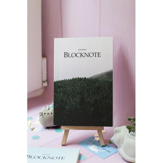 Блокнот с чистыми листами Forest