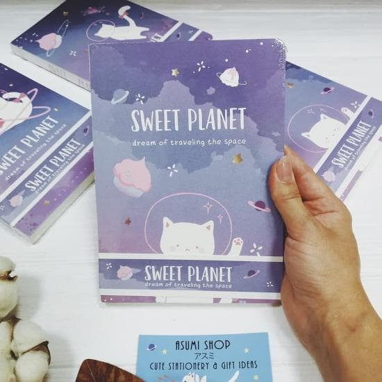 Блокнот Sweet Planet
