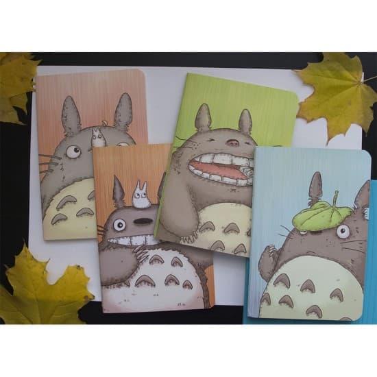Тетрадь с Totoro в линию