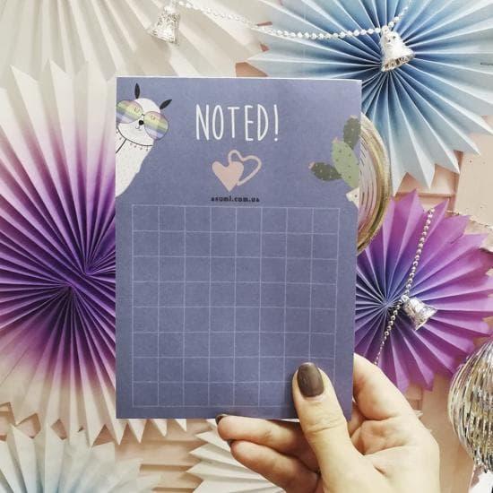 """Блокнотик To Do """"Noted"""", Asumi"""