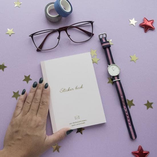 Стикербук: Sticker Book Chiori (Книга с наклейками)