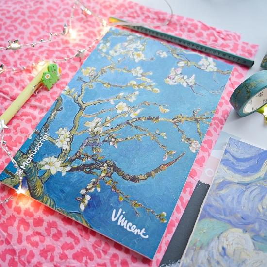 Скетчбук Manuscript Van Gogh 1890