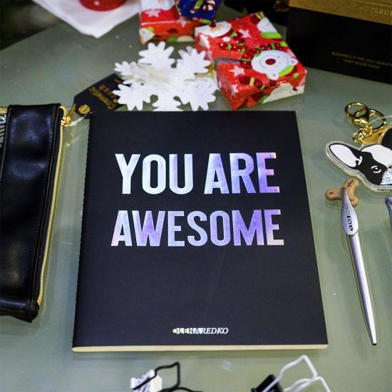 "Тетрадь А4 в линию ""You are Awesome"""