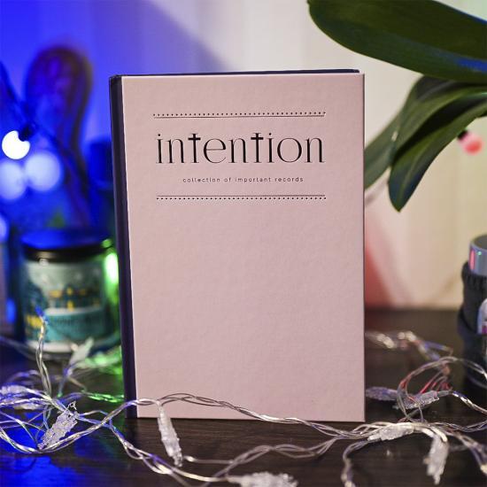 """Планер """"Intention"""", на английском языке"""