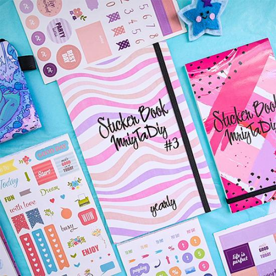 "Стикербук ""Sticker Book MriyTaDiy"" v3"