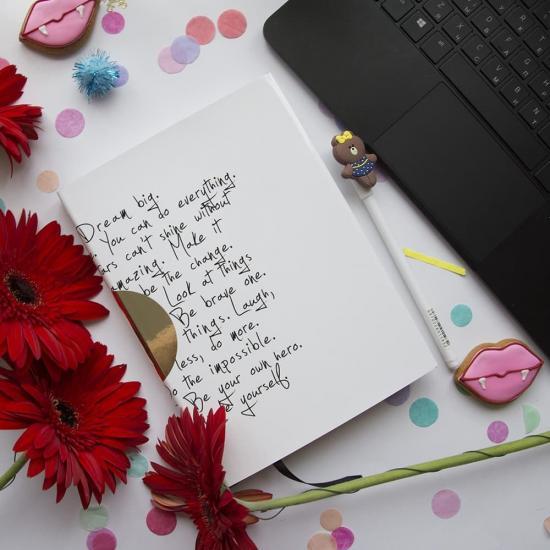 Вдохновляющий дневник MY SELF JOURNAL