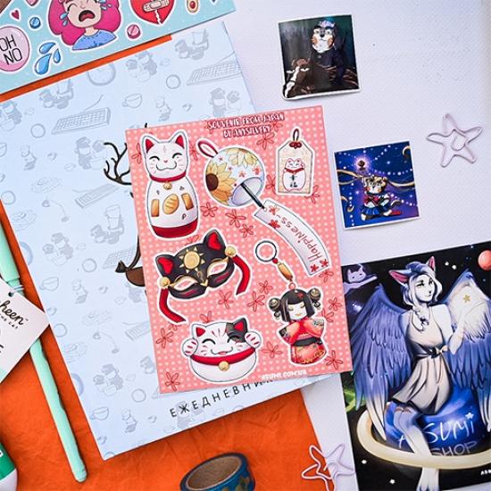 Японские наклейки от Any Silvery by Asumi