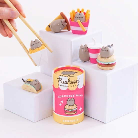Pusheen Surprise Minis Series 3  - Мини виниловая фигурка Пушин