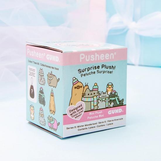ПРЕДЗАКАЗ Pusheen Surprise Plush Blind Box - Winter Wonderland