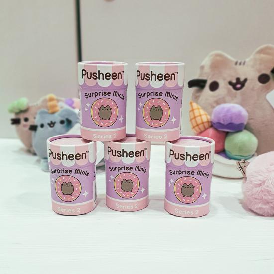 Pusheen Surprise Minis Series 2  - Мини виниловая фигурка Пушин