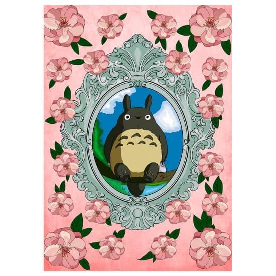 Авторский плакат Totoro А3