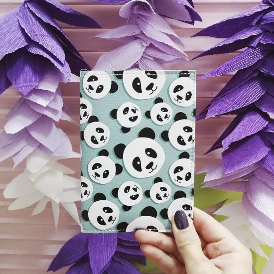 "Обложка на паспорт ""Panda"""