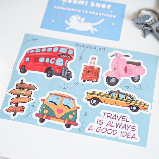 """Наклейки для планирования """"Travel"""", Ananieva"""