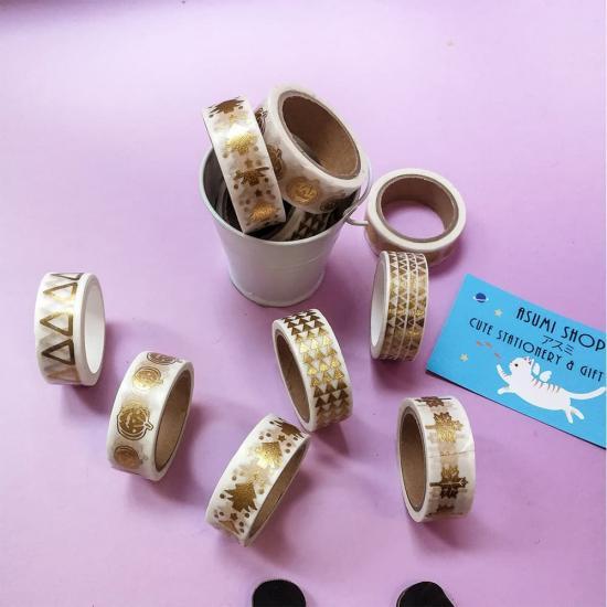Декоративный скотч Gold (в ассортименте)
