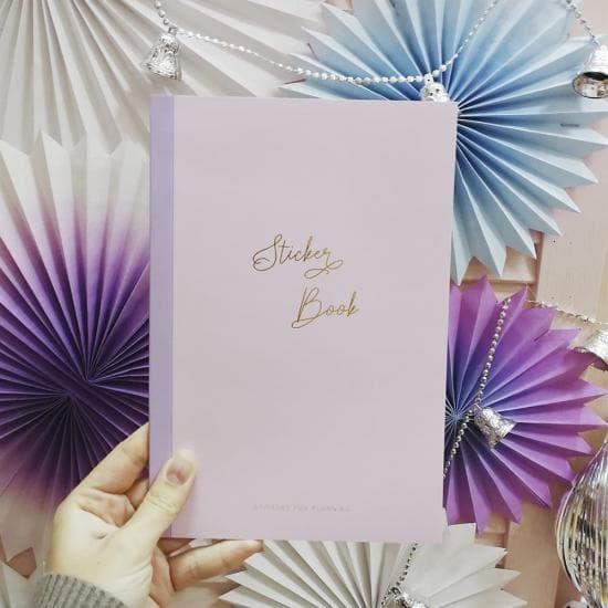 Книга с наклейками для планирования Chiori