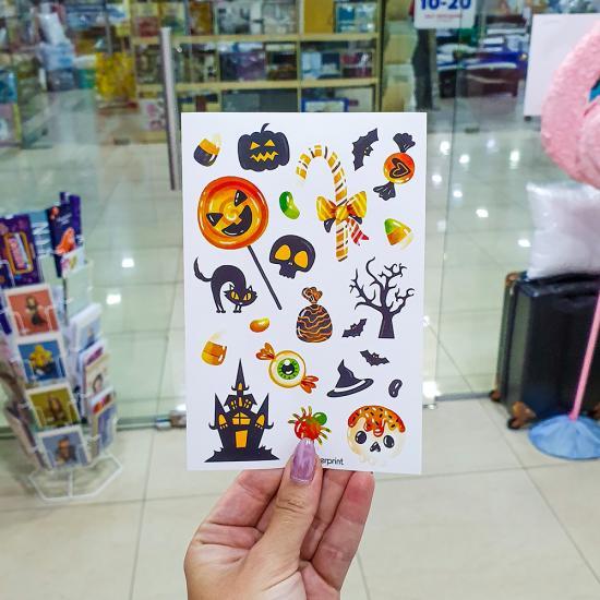 Наклейки Halloween, All Sticker Print
