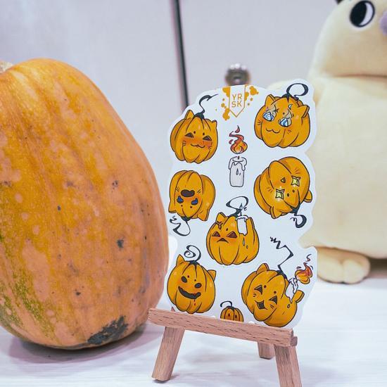 Наклейки Pumpkin, YRSK