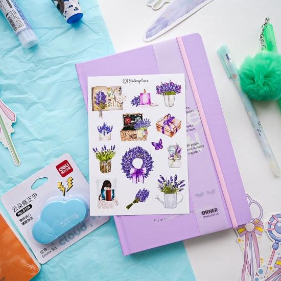 Наклейки Lavender, SticknPlan