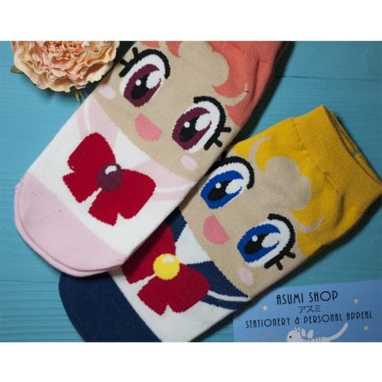 Носочки Sailor Moon и Sailor Chibi Moon