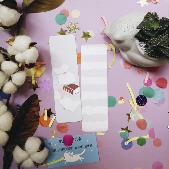 Бумажные закладки для книг Book, StickerPicker (2шт)