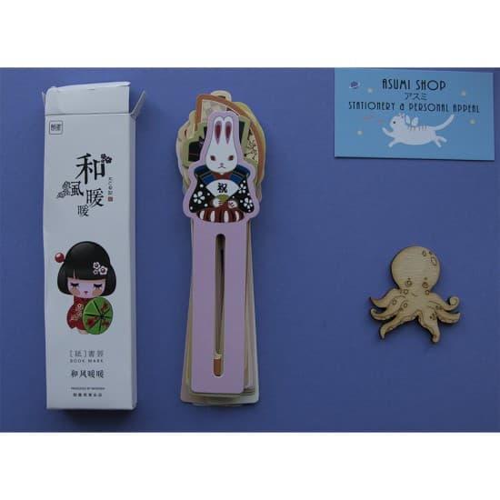 Бумажные закладки для книг Japanese Style
