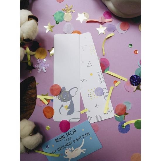 Бумажные закладки для книг Mouse, StickerPicker (2шт)
