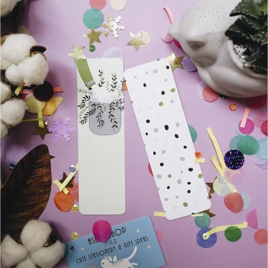 Бумажные закладки для книг Nature, StickerPicker (2шт)