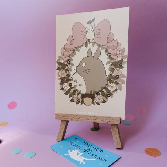 Открытка Totoro