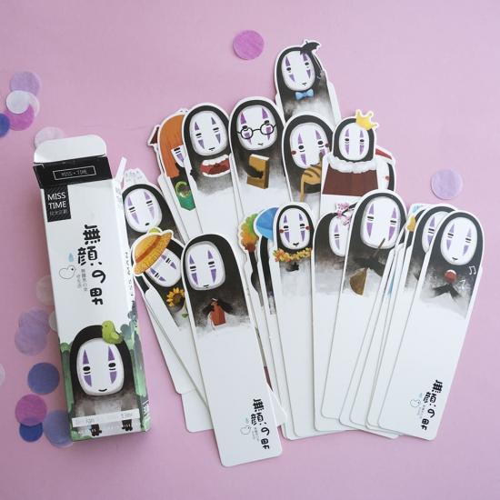 Открытки/закладки Безликий бог Каонаши (1 шт)